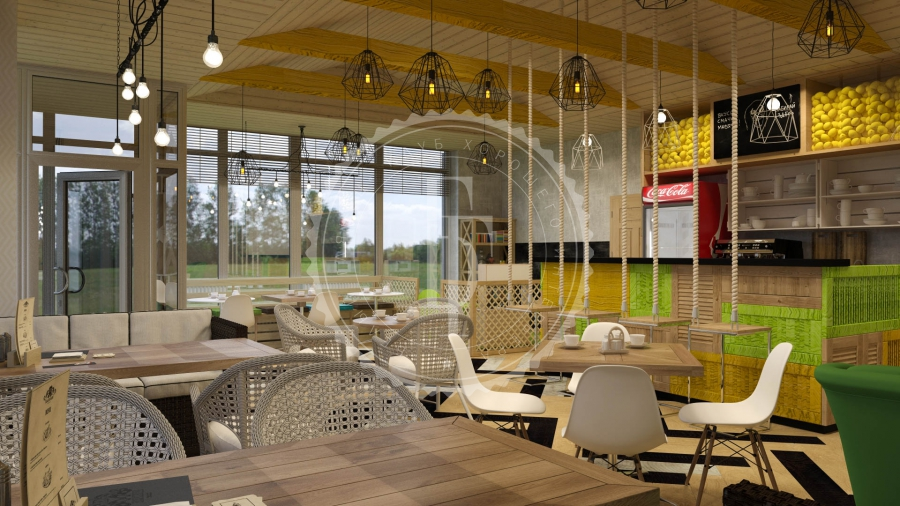SKORO VESNA - Лучший интерьер ресторана, кафе или бара